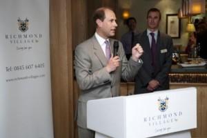 Prince Edward opens Richmond Letcombe Regis